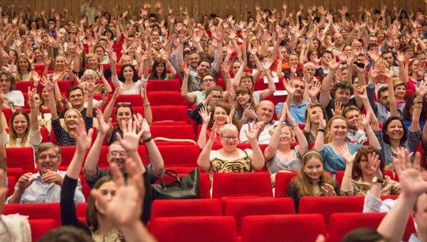 Съемки в массовке в зрительном зале | telepropusk - изображение 2